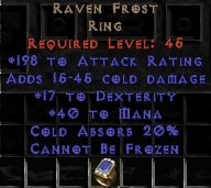 Raven Frost Ring